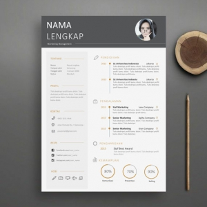Simple Profesional Resume