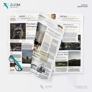 Layout Design Newspaper 01