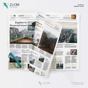 Layout Design Newspaper 05